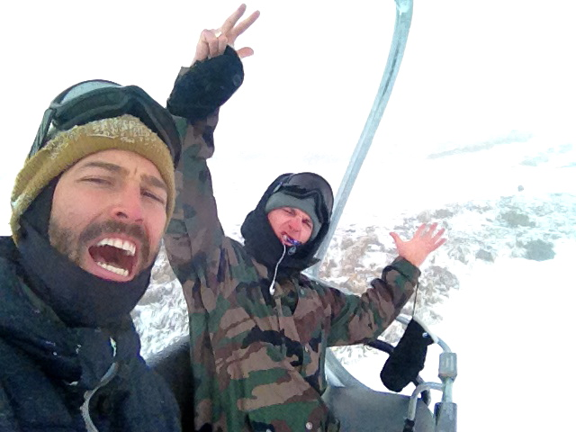 Chair Lift with Mitch